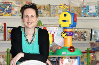 Amanda Bailey at Franklin Community Toy Library