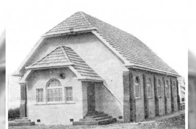 Rotorua Baptist Church building in 1945