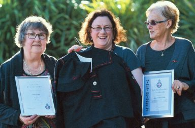 Girls' Brigade long-serving members