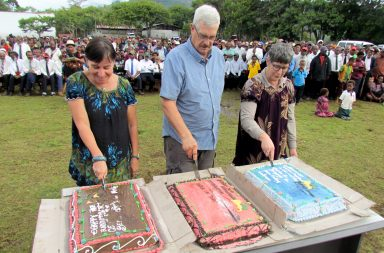70th anniversary cakes in Papua New Guinea