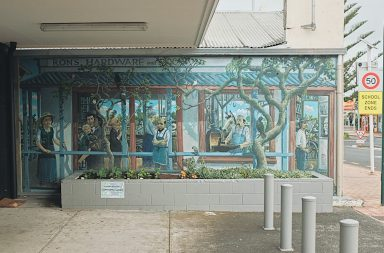murals and malls