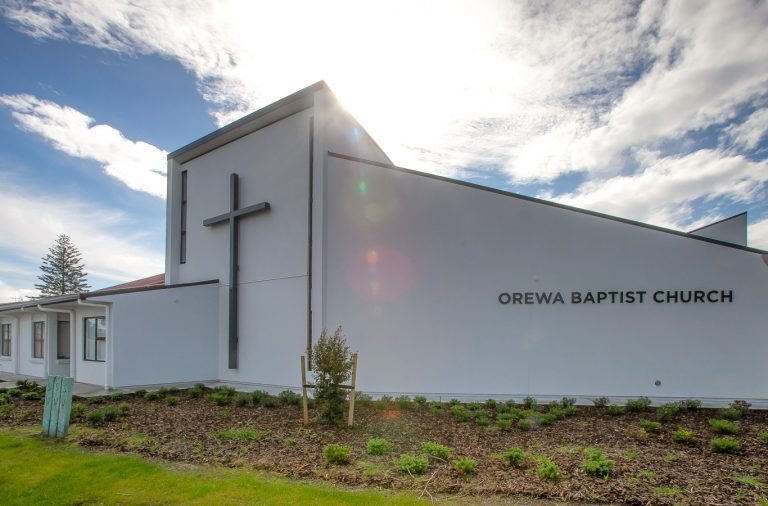 Orewa Baptist new facilities